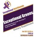 Exceptional Greens - Espresso (30svg)