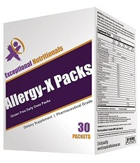 Exceptional Allergy X Packs